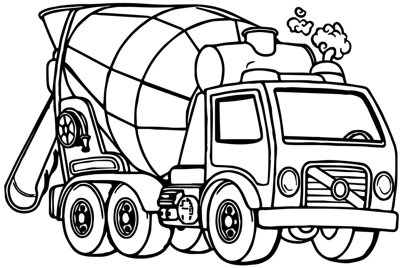 Imagem de caminhão para pintar