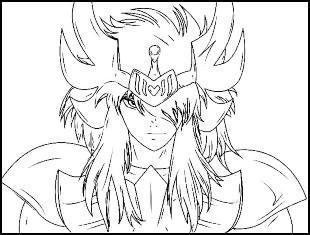 Desenhos para colorir de Cavaleiros do Zodíaco