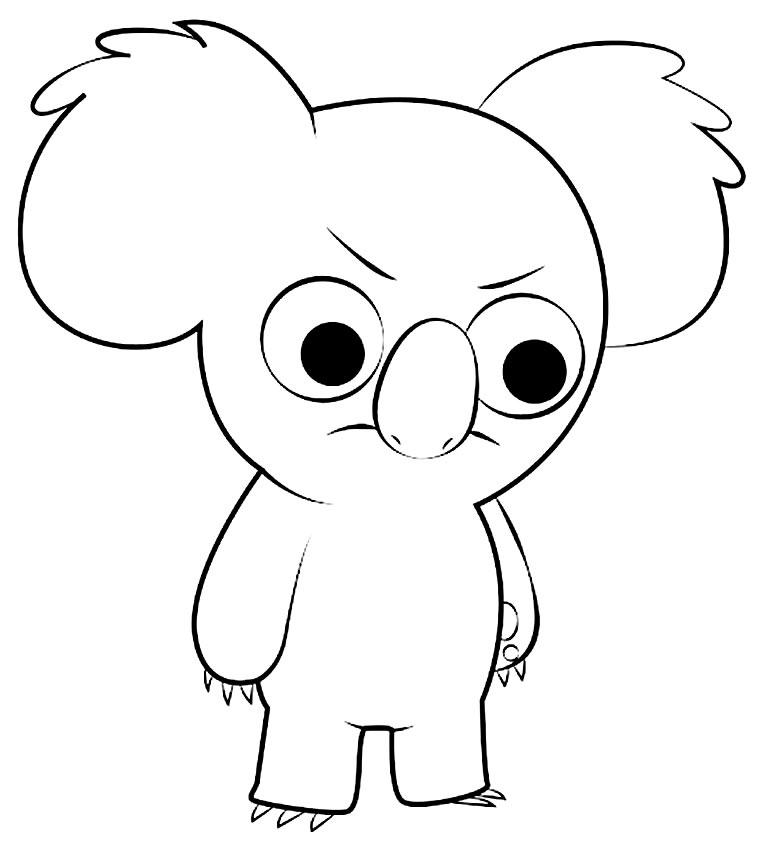 Desenho do Urso sem Curso