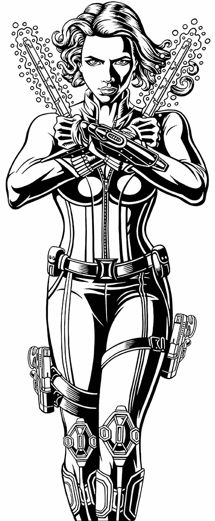 Imagem da Viúva Negra