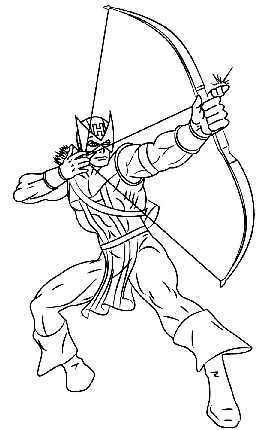 Desenho do Guardião Arqueiro