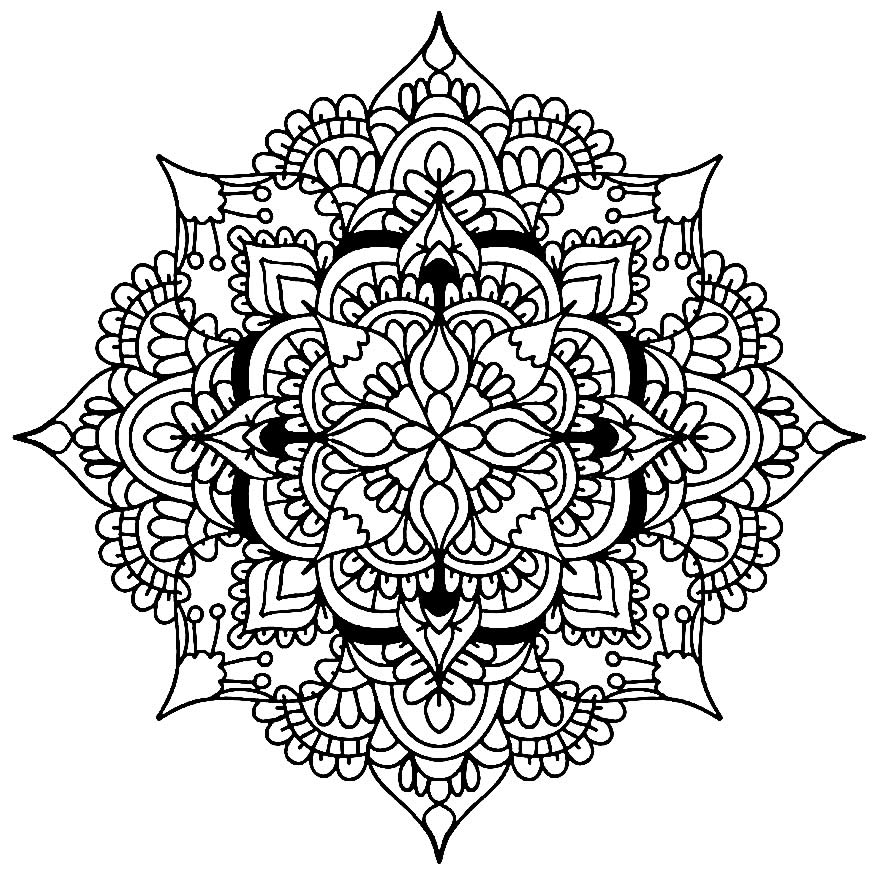 Imagem geométrico para pintar