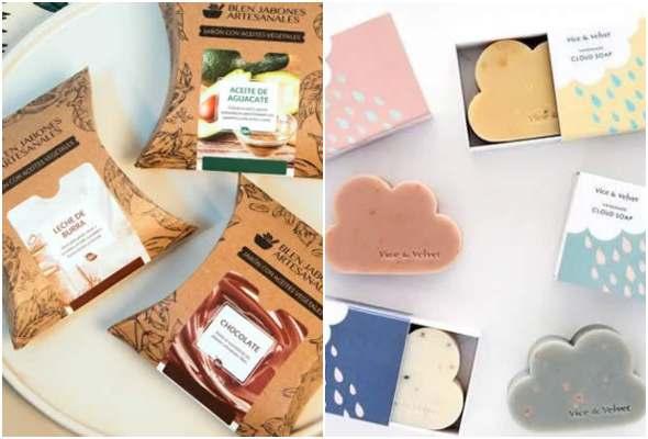 10 caixinhas para sabonetes com moldes