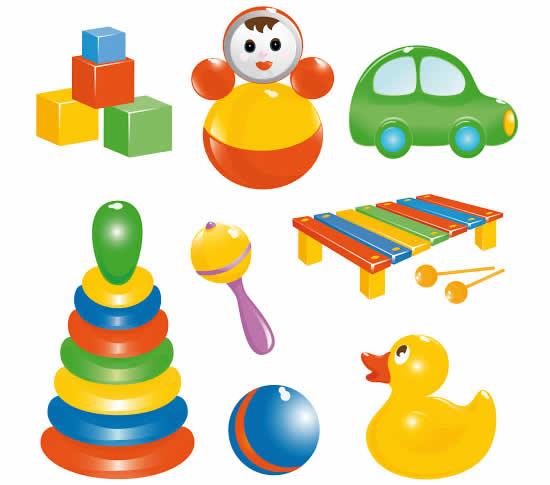 Desenho de brinquedos