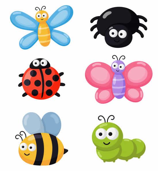 Desenhos de insetos