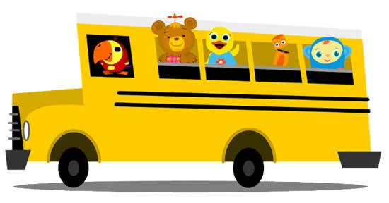 Desenho para colorir de ônibus