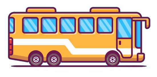 Desenho de ônibus