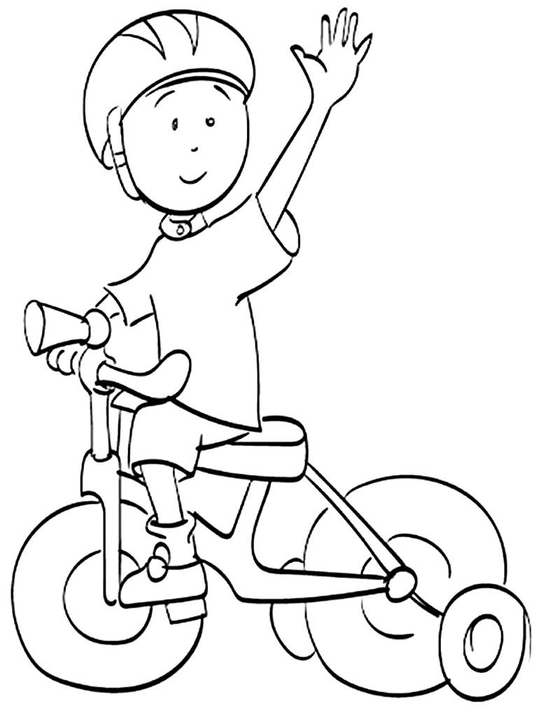 Imagem de bicicleta para pintar
