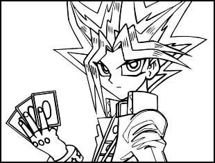 Desenhos de Yu-Gi-Oh para colorir