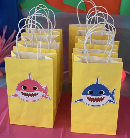 Lembrancinha para Festa Baby Shark