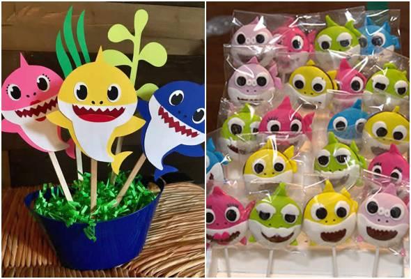 Ideias para Festa Baby Shark