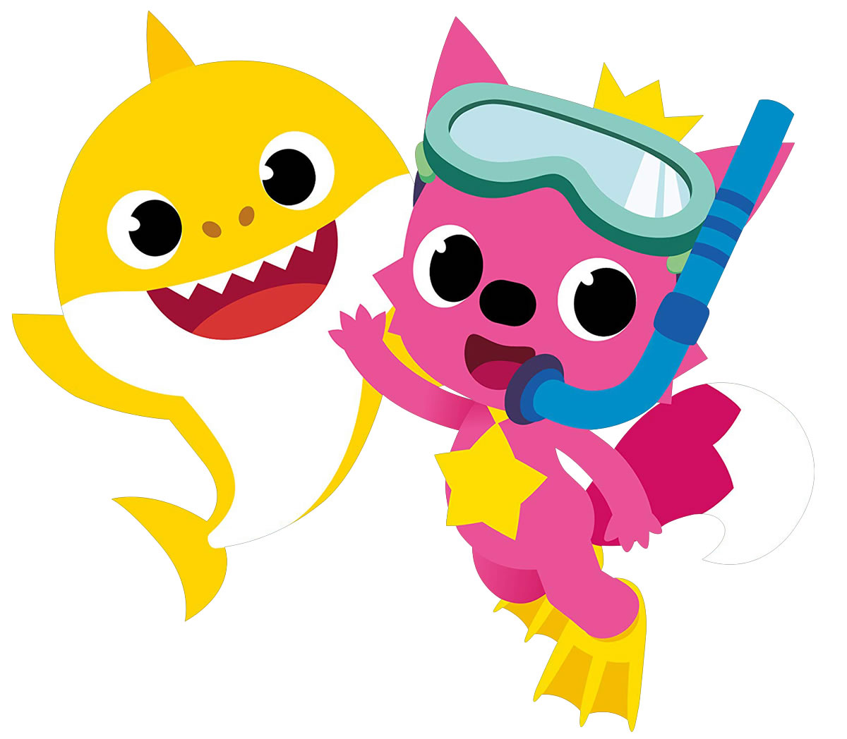 Molde para Lembrancinha Baby Shark