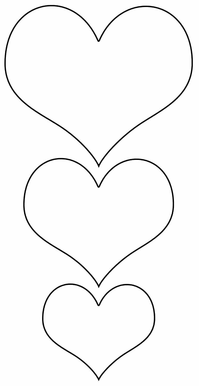 Moldes de corações