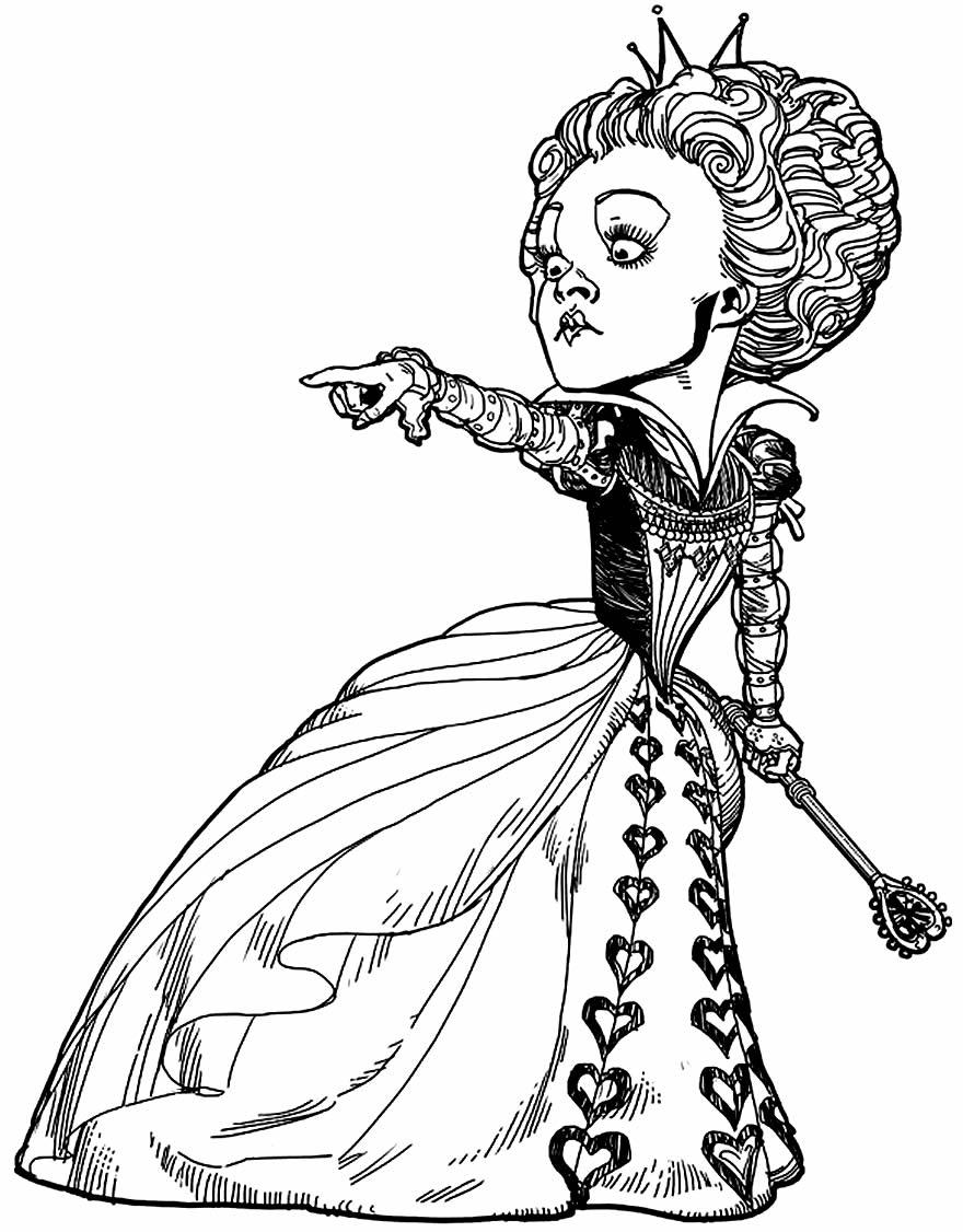 Desenho do Filme Alice