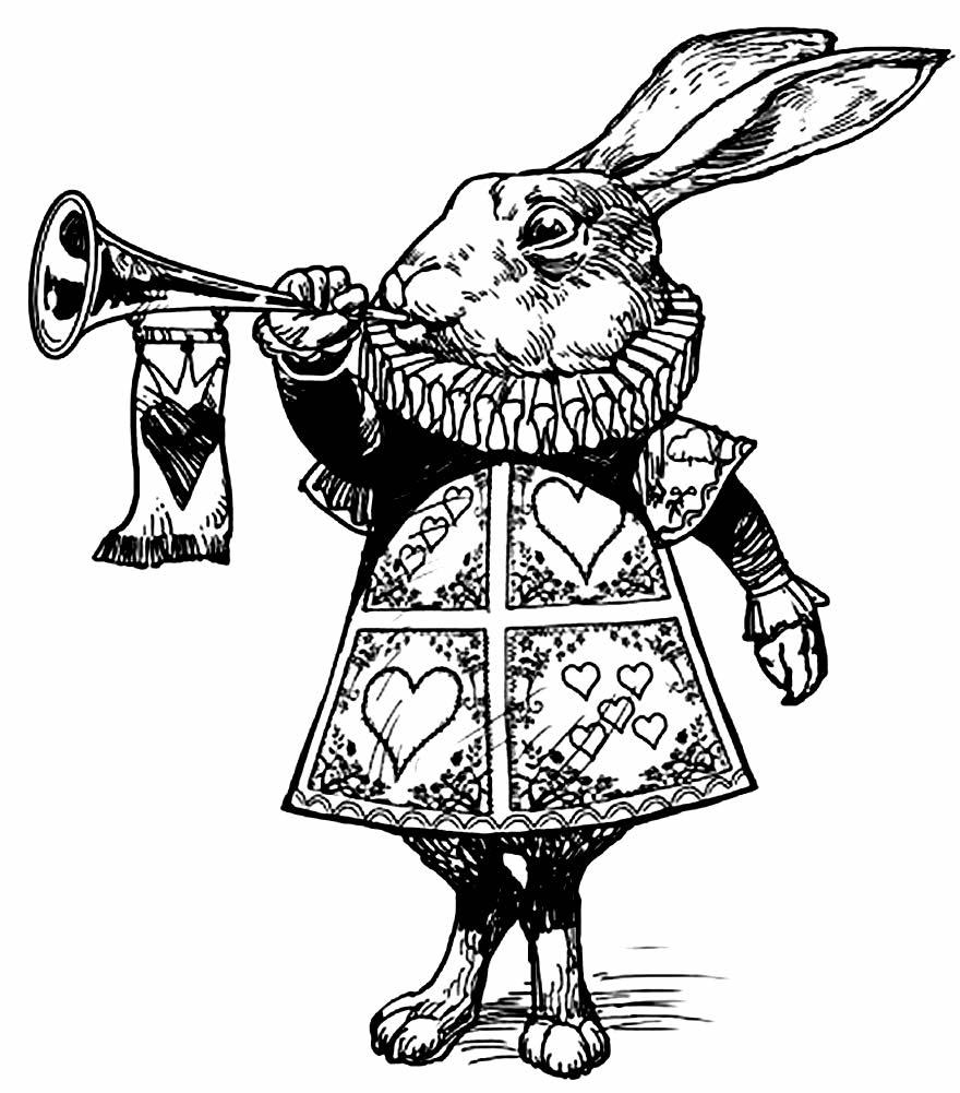 Desenho do Filme Alice no País das Maravilhas