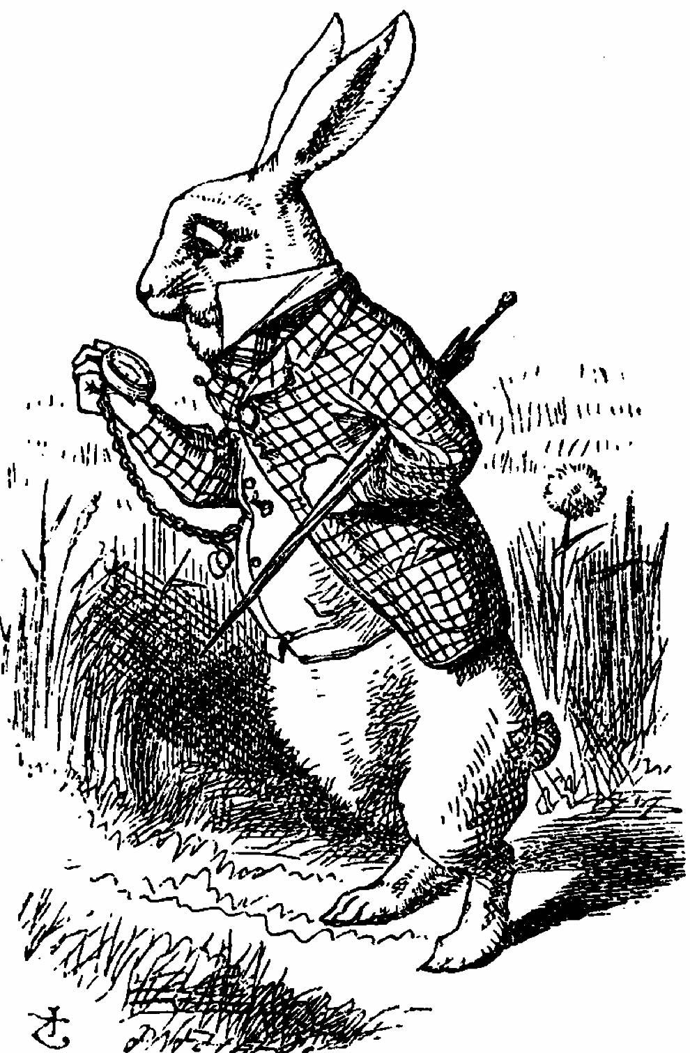 Desenhos do Filme Alice no País das Maravilhas
