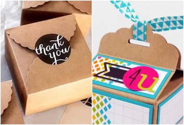 10 caixas para presente de Dia dos Pais com moldes