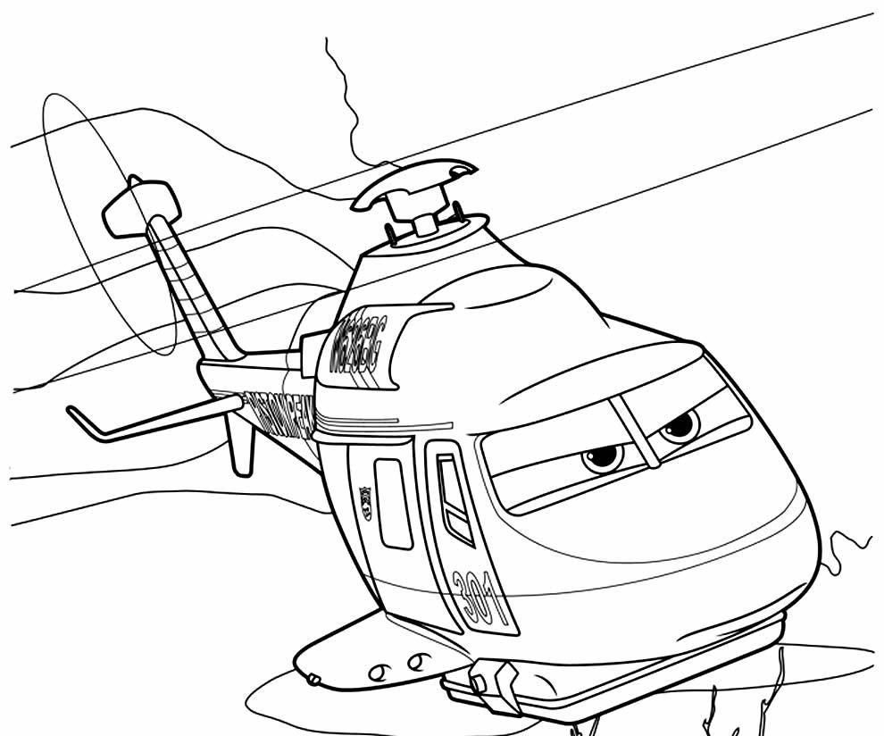 Imagem de Helicóptero para pintar