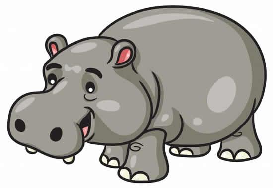 Molde de Hipopótamo