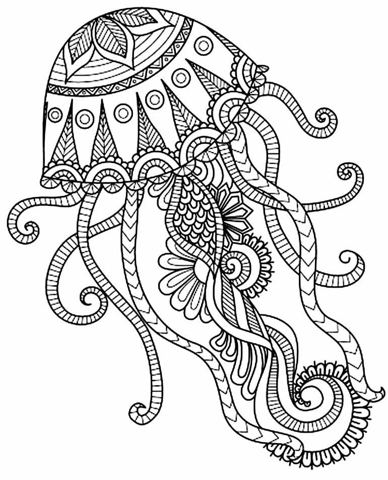 Desenho lindo de Mandala para colorir
