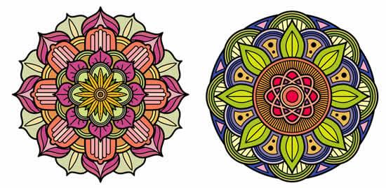 Desenho de Mandalas