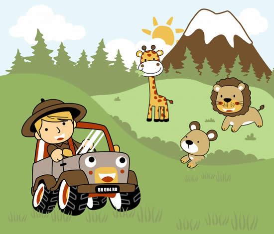 Desenho de Safari