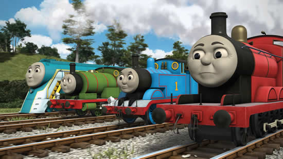 Desenho de Thomas e os Amigos