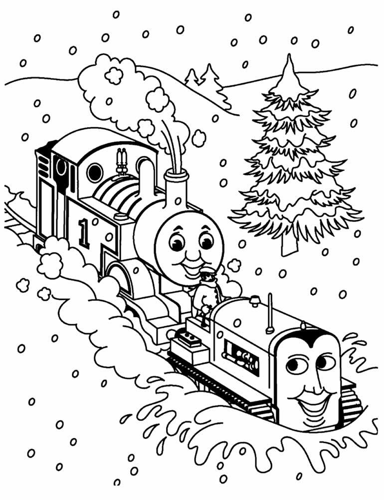 Imagem de Thomas e os Amigos para pintar