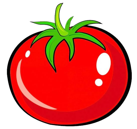 Molde Colorido de Tomate