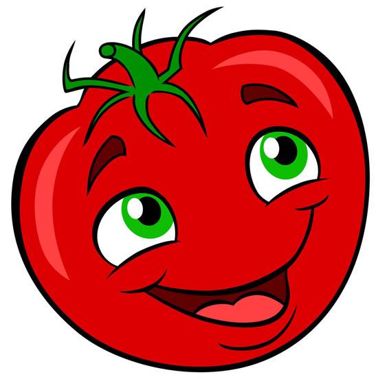 Molde Divertido de Tomate