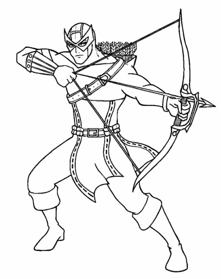 Desenho do Gavião Arqueiro