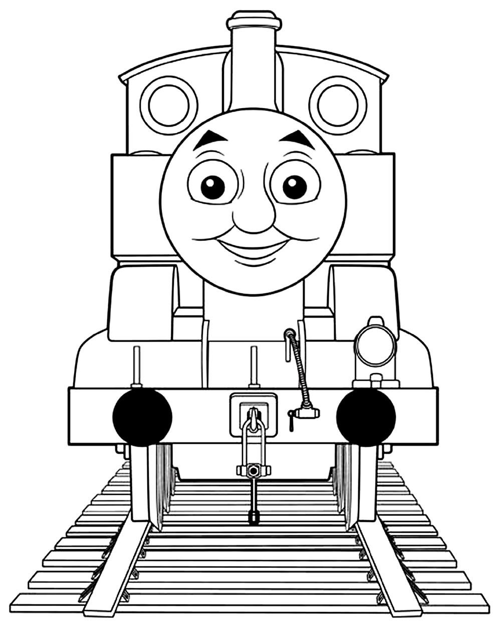 Imagem de Thomas e Seus Amigos para pintar