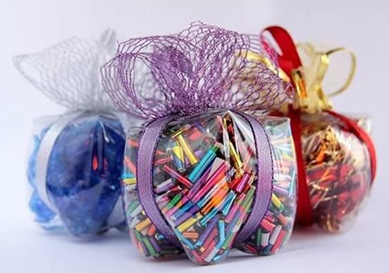 Lembrancinha com reciclagem para Dia dos Pais