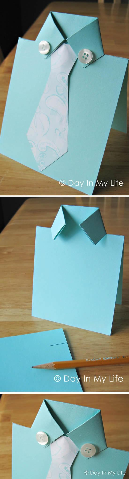 Cartão lembrancinha Dia dos Pais