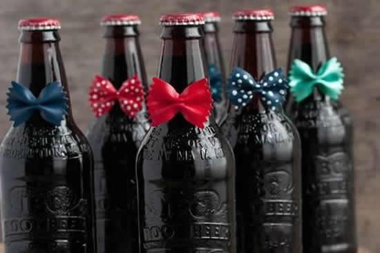 Lembrancinhas com garrafas para o Dia dos Pais