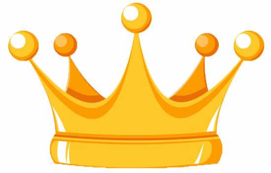 Molde Colorido de Coroa