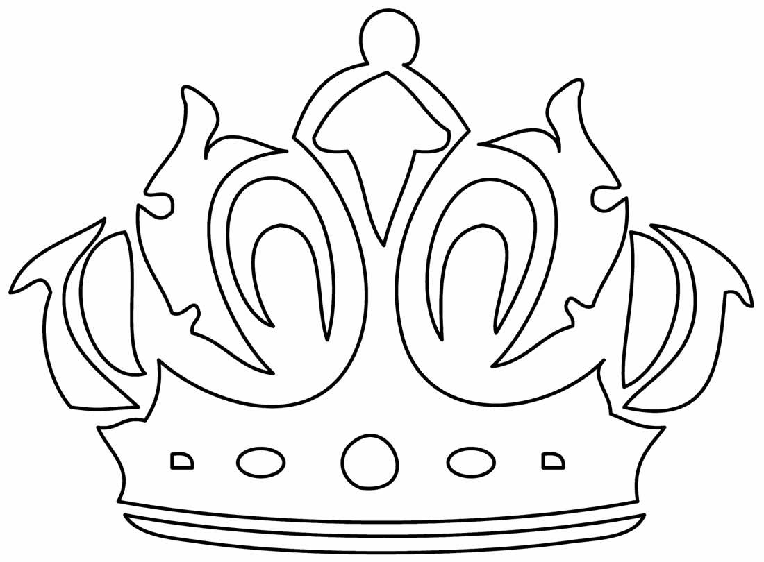 Molde de Coroa para pintar