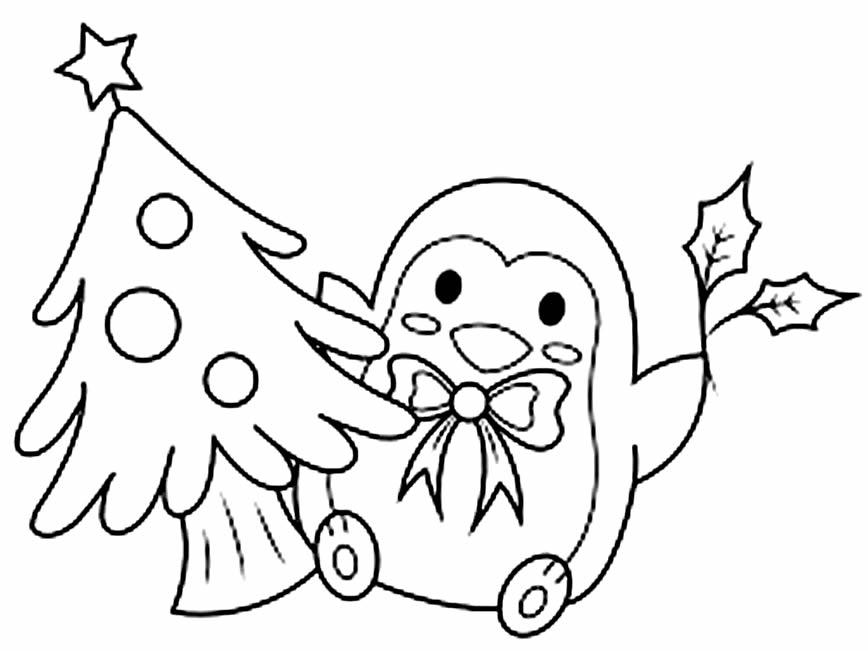 Desenho lindo de Árvore de Natal