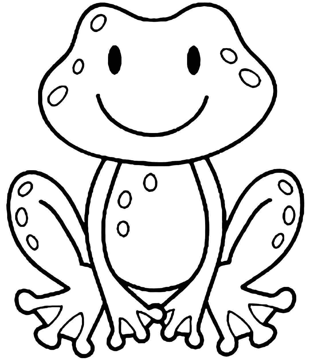 Desenho de Sapo