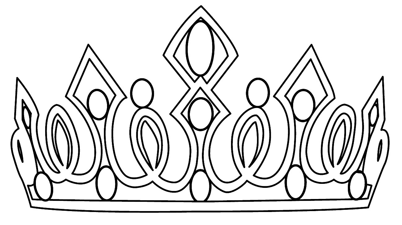 Imagem de Coroa para pintar