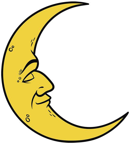 Desenho da Lua
