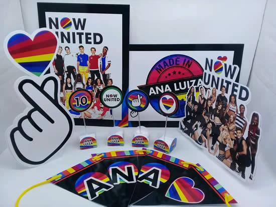 Lembrancinhas para Festa Now United