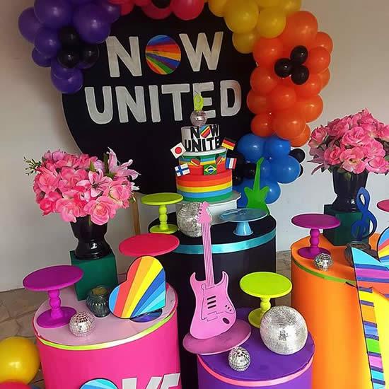 Ideias para Festa Now United