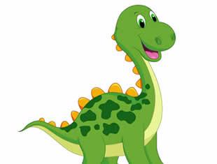 Desenhos de colorir de Dinossauros