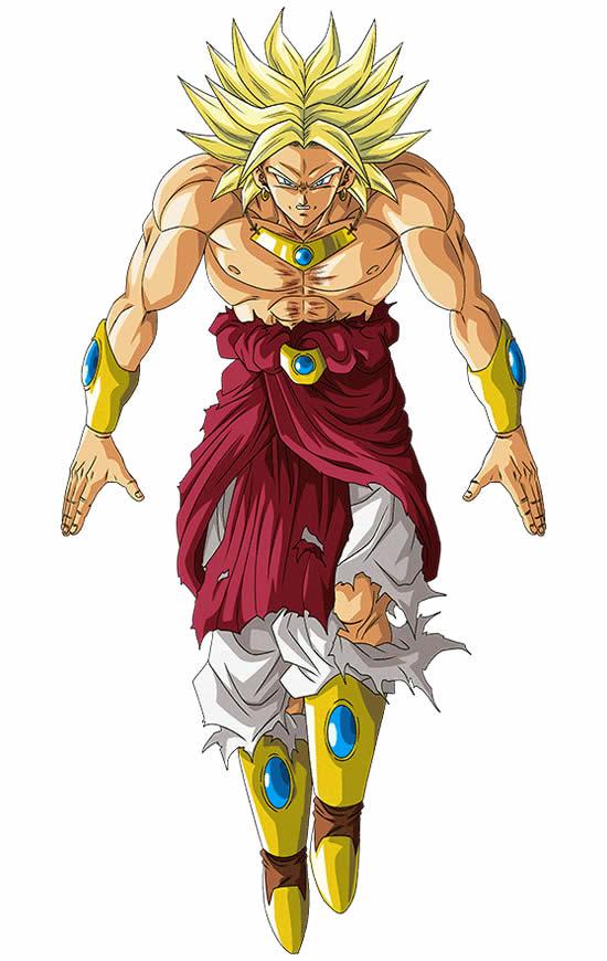 Desenho Colorido de Dragon Ball Z
