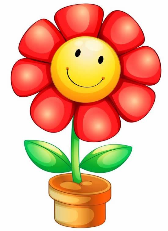 Molde Divertido de Flor
