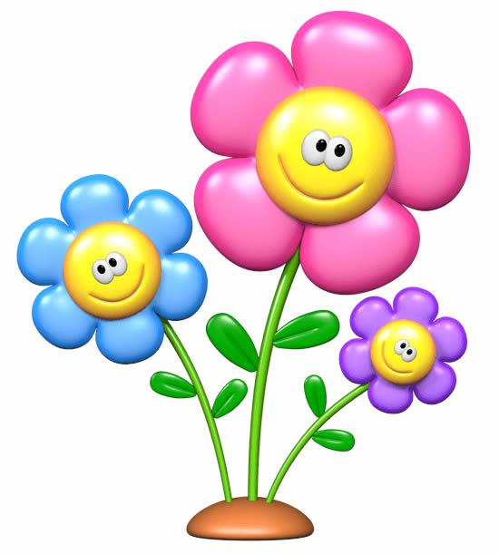 Moldes Coloridos de Flor