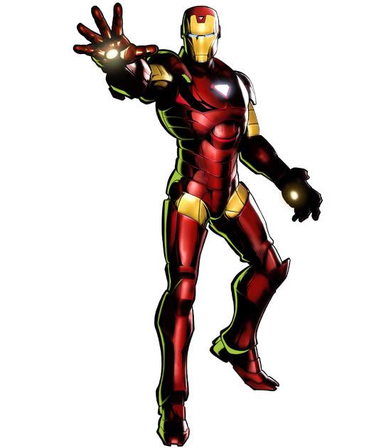 Molde de Homem de Ferro