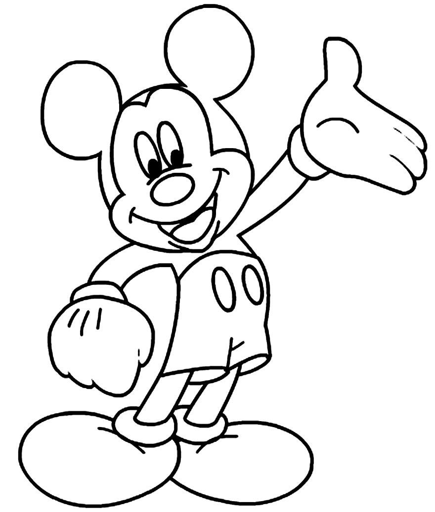 Molde do Mickey Mouse