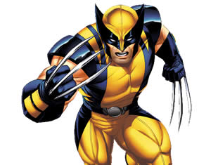 Desenho de Wolverine